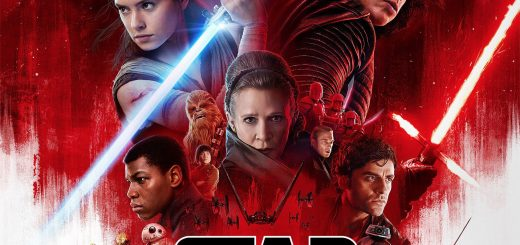 "Poster voor de film ""Star Wars: The Last Jedi"""