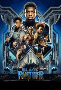 "Poster voor de film ""Black Panther"""