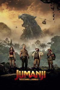 "Poster voor de film ""Jumanji: Welcome to the Jungle"""