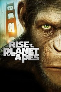 """Poster voor de film """"Rise of the Planet of the Apes"""""""