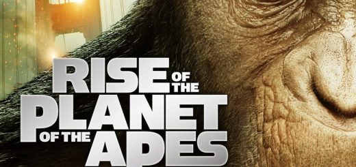 "Poster voor de film ""Rise of the Planet of the Apes"""