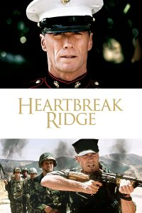 "Poster voor de film ""Heartbreak Ridge"""