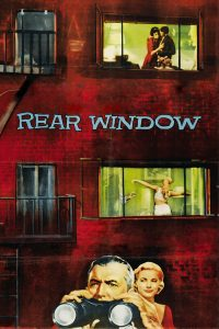 "Poster voor de film ""Rear Window"""