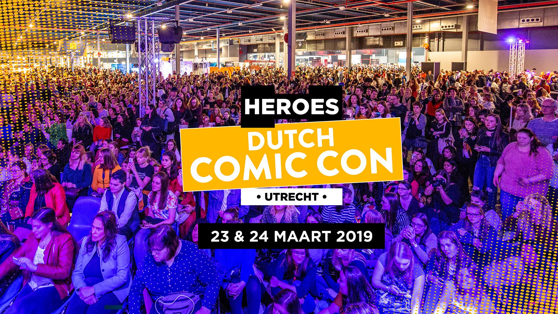 Heroes Dutch Comic Con 2019 voorjaarseditie