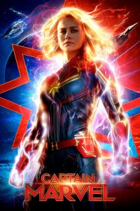 "Poster voor de film ""Captain Marvel"""