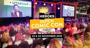 Heroes Dutch Comic Con 2019 wintereditie