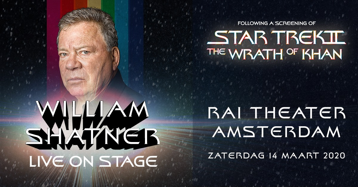 William Shatner + Star Trek II: The Wrath of Khan in RAI Theater