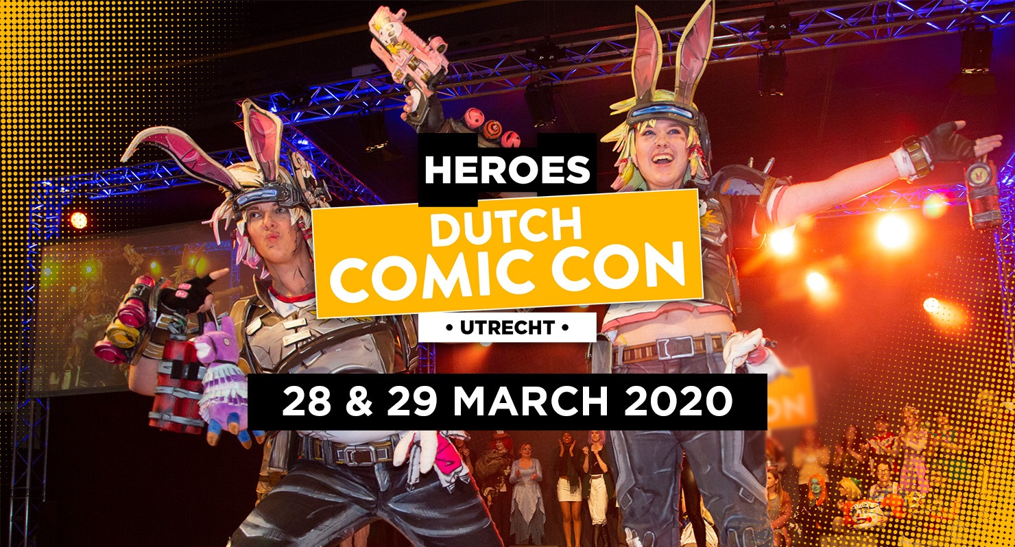 Heroes Dutch Comic Con 2020