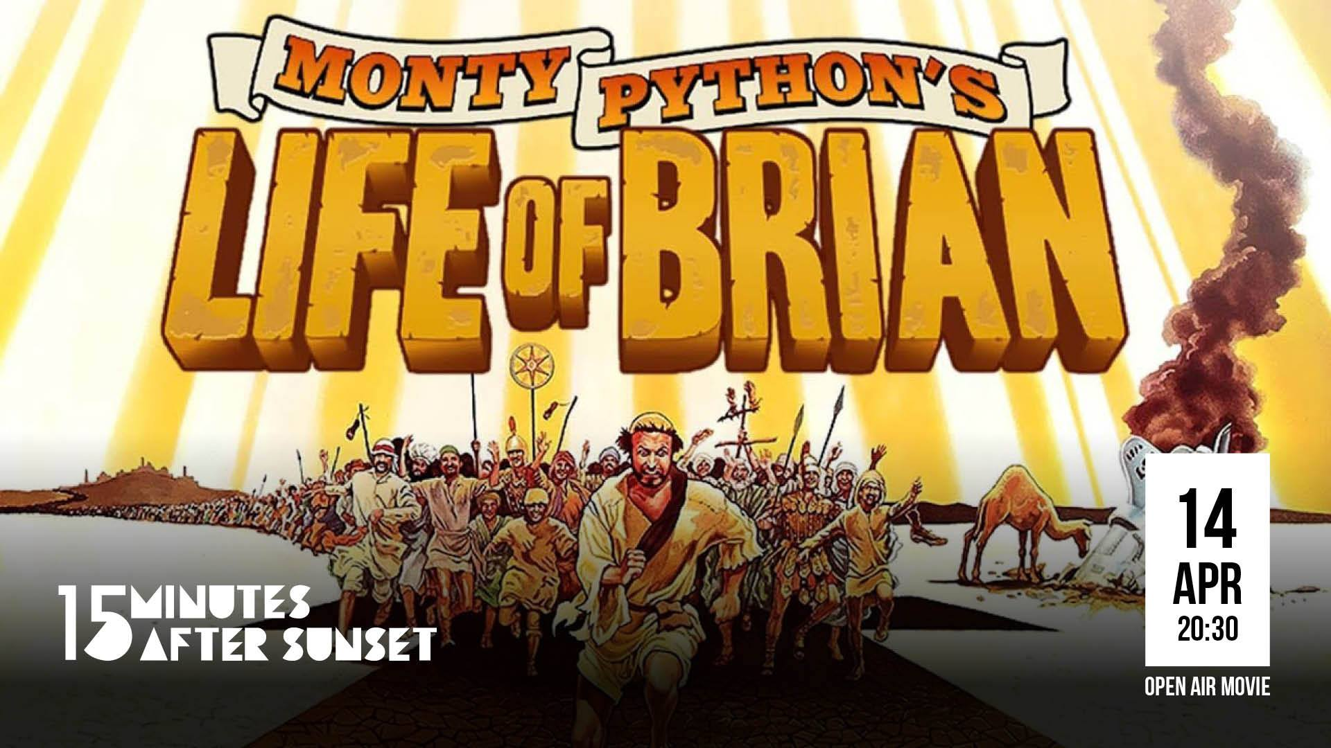 15 minutes after sunset - Life of Brian