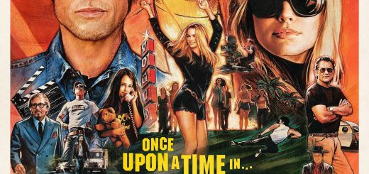 "Poster voor de film ""Once Upon a Time… in Hollywood"""