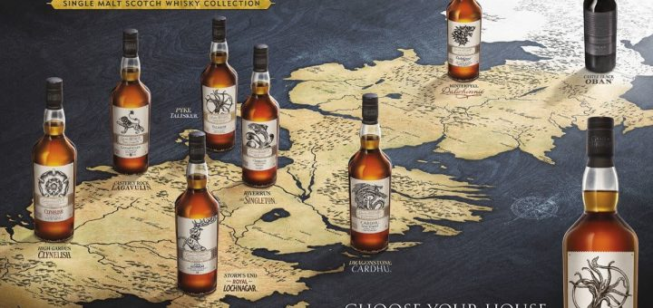 Game of Thrones Whisky Collectie